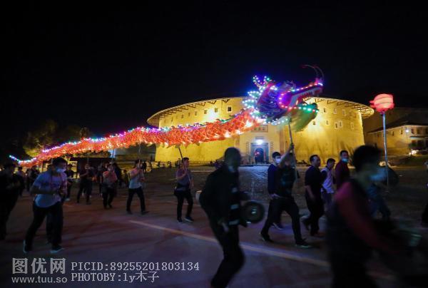 春节闽西传统民俗